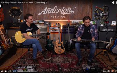 Lee & Pete von Andertons zeigen die neuen Duesenberg Modelle und verlieben sich.